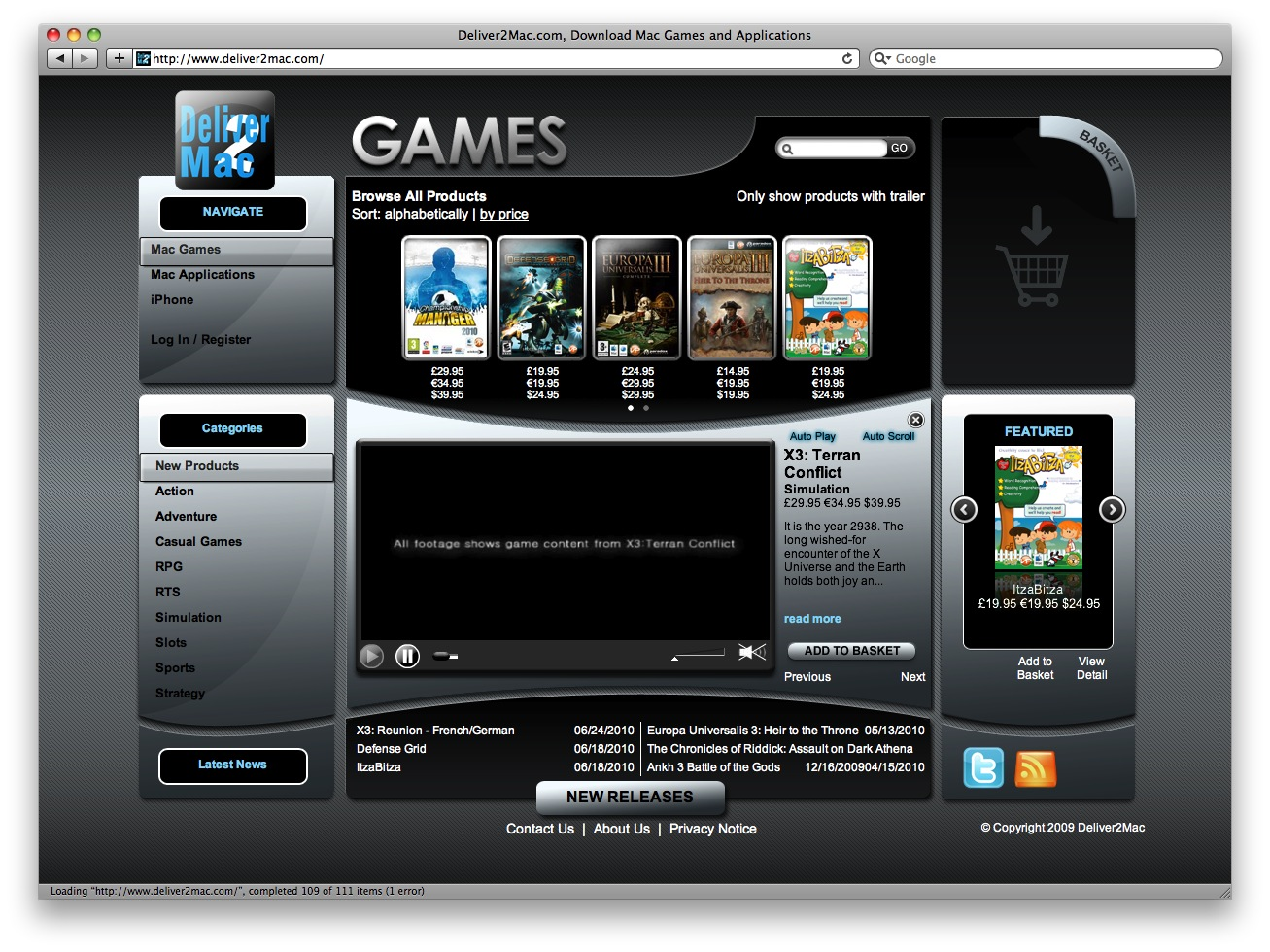digital downloads for mac games