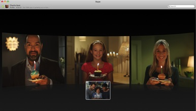 Skype 50 for mac beta gets group video chat redesign macworld skype 50 for mac ccuart Choice Image