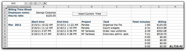 how to build an interactive worksheet in excel 2011 macworld