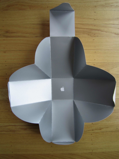 The Inside Of Apples T Shirt Origami Box